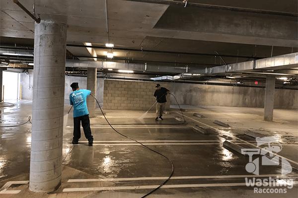 Parking maintenance